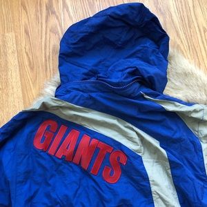 6d2cea1eabe Mitchell   Ness Jackets   Coats - Mitchell   Ness NY Giants Throwback Jacket  Size M